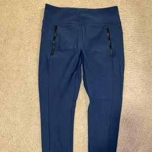 Athleta Navy Hybrid Legging/Pant